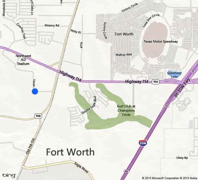 Map Of Justin Texas.Northwest High School Justin Tx