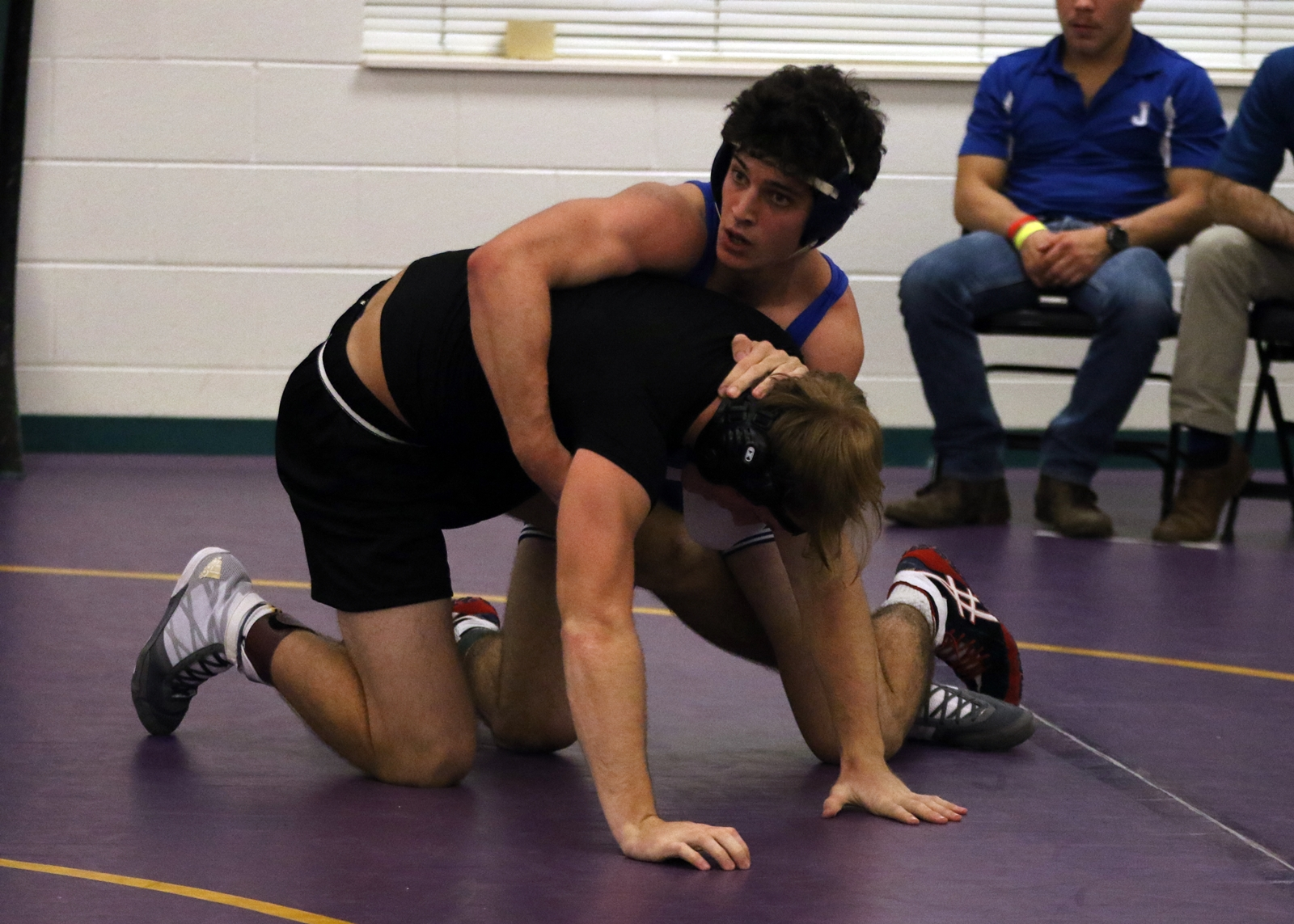 Untitled 1 Pd Singlet Pool D Thomas Arceneaux Jes Pinned A Daphne Opponent In 450